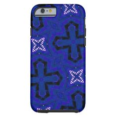 A cross and star blue abstract pattern for the product you want. You can also Customized it to get a more personally looks. #abstract #abstract-pattern #cross #geometric #geometric-pattern #blue #blue-pattern #plus-shapes modern-art