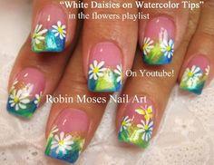 Acrylic nails by Robin Moses