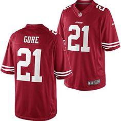Men's San Francisco 49ers Frank Gore Nike White Platinum Limited Jersey