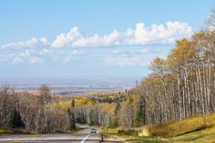 Driving out of Riding Mountain National Park looking toward the town of Dauphin, Manitoba on October 2014 Riding Mountain National Park, Western Canada, October 2014, Summer Nights, Homeland, Roads, Countries, Travel Inspiration, Road Trip