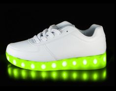 Light Up LED shoes Comes with USB charger 7 different color settings and one flashing colors setting There in a button inside #ledlightsforshoes #ledlightshoes #ledlightupshoes #ledshoe #ledshoesforsale #ledshoesforkids #shoeswithledlights  #kidsledshoes #ledlightshoesforsale