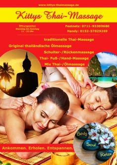 Kitty´s traditionelle Thaimassage in Stuttgart: Thai Massage Kornwestheim…
