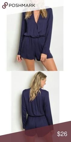 Just in!! navy romper
