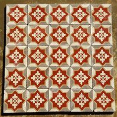 carrelage rouge carrelage carreaux ciment