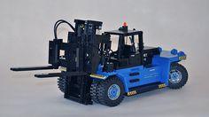Lego Valmet TD 28-12 Forklift Truck