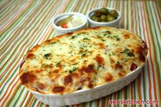 Cheesy Oven Spaghetti - Recipe shared by Aeri from Aeri's Kitchen and Youtube.