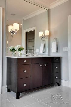 Quick And Easy Ways To Update A Tired Bathroom Pinterest - Bathroom cabinets raleigh nc