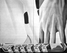 Pushbutton. 1961. James Rosenquist