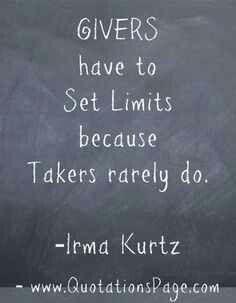 Set limits --