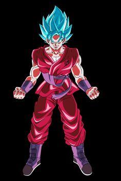 Goku dssjblue kaioken