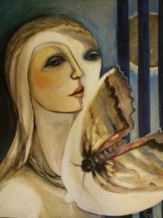 Rhona Gorvy / what an amazing artist! Beautiful body of work , as diverse in medium as in subject. Yet every work detailed and deap in emotion and meaning.