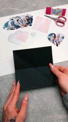 Cool Paper Crafts, Paper Crafts Origami, Diy Paper, Origami Easy, Origami Tutorial, Diy Crafts Hacks, Diy Crafts For Gifts, Diys, Diy Gifts Videos