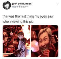 It's really disrespectful to namjoon!they need to be educated cuz they don't know how bad this is!>>> they like them not just for their looks I think that's good! Namjoon, Kookie Bts, Kpop, Vixx, Bts Love, Cypher Pt 4, Bts Memes Hilarious, Bts Tweet, About Bts