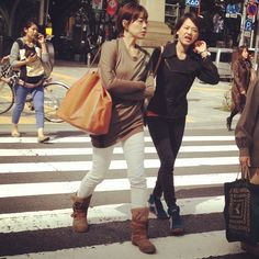 #trendyjapanesewomen #aoyama this #autumn2013 where the temperatures are finally dropping a little.