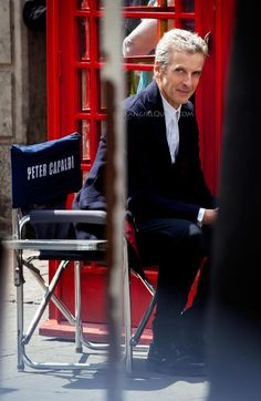 Capaldi chair. Oh Peter, please keep doing what ever it is you do! Because I love it!!