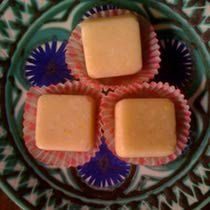 "This recipe for creamy raw coconut 'candy"" utilizes organic coconut cream* which is then lightly sweetened and flavored. Coconut Cream Candy Recipe, Coconut Candy, Raw Coconut, Candy Recipes, Raw Food Recipes, Scd Recipes, Recipies, Organic Coconut Cream, Honey Roasted Almonds"