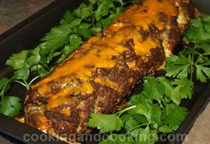 Stuffed Meatloaf Recipe - Has sundried tomato, mozzarella, and basil inside! I'll try it with ground turkey of course