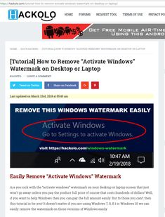 "Are you sick with the ""activate windows"" watermark on your desktop or laptop screen that just won't go away unless you pay the product full price of course that costs hundreds of dollars!"