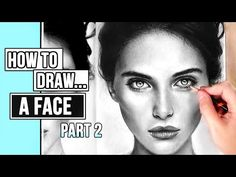 (1421) How to Draw a Realistic Face | Portrait Drawing Tutorial Part 2: Skin + Hair - YouTube