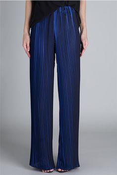 Pants - BLACK ROYAL PLEATED PERFECTION PANT