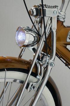 Nirve Classic Bicycle Chrome Headlamp at Big Time Cruisers