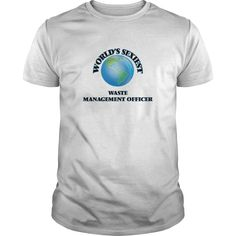 World's Sexiest Waste Management Officer - The perfect shirt to show your admiration for your hard working loved one.