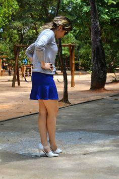 Sweater + Fishtail Skirt