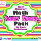 This is the perfect Smart Board pack to review math skills for testing and keep students excited about math through the end of the year. And it's C...