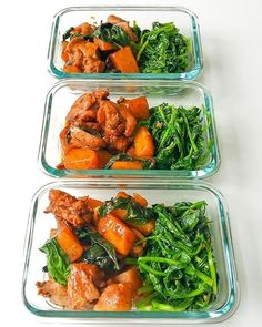 One Pot Basil Chicken with potatoes and spinach : MealPrepSunday