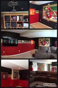 1000 images about new home on pinterest striped for 49ers room decor