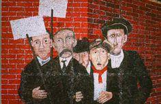 Ben Shahn's Sacco & Venzetti Mural