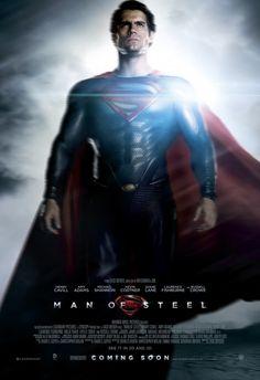 Henry Cavill is Clark Kent in Man of Steel. 6.14.13