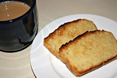 From Jess-I made the English Muffin Bread that's been all over Pintrest & it's mouth-wateringly good!  (I added a couple tips that weren't in the original recipe.)