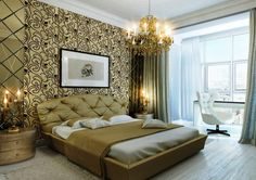 16 Glamourous Bedrooms That Will Leave You Speechless                                                                                                                                                                                 More