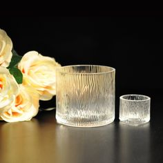 Cylinder Round Clear Glass Candle Jar,cylinder glass holders on okcandle.com