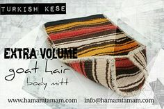 Turkish kese. Extra Volume goat hair body mitt. Thick and natural. For deep skin care. For more detail visit   http://hamamtamam.com/goat-hair-extra-volume-bath-glove #kese #natural #mitt #skincare #goathairmitt  #goathair #deep  #bodycare #turkishkese #wholesale