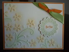 Elegant bouquet embossing folder simply beautiful...mjr