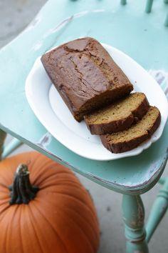 emily k: Pumpkin Bread {Gluten Free, Dairy Free}   Bake for 1.5 hours