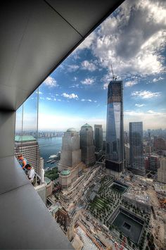 NYC. Manhattan. A  view of One World Trade Center