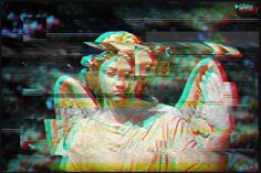 I decided to start practising graphics, cross your fingers! :* #graphics #glitch #vhs #photoshop #play #graphicdesign #designspiration #artspotlight