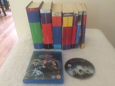 Complete set of #harry potter books & #harry potter blu-ray dvd, #great #condition,  View more on the LINK: http://www.zeppy.io/product/gb/2/222234717398/