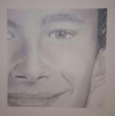 Brendan - graphite pencil drawing art portrait value shading