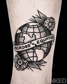 old school tattoo earth - Pesquisa Google