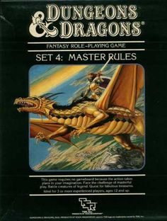 Dungeons & Dragons Set 4: Master Rules (1983)