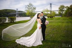 May Weddings, Hudson River, Wedding Dresses, Outdoor, Fashion, Bride Dresses, Outdoors, Moda, Bridal Gowns