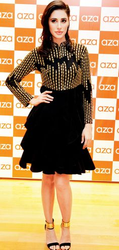 Nargis Fakhri at the Aza store launch in Bandra. #Bollywood #Fashion #Style…