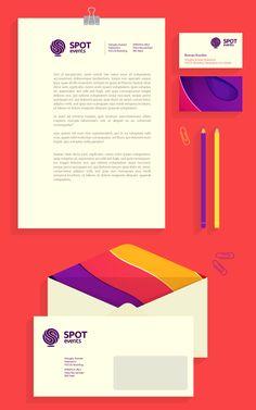 SPOT logo by Roman Korolev, via Behance
