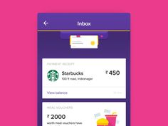 Here is a concept of 'Pull to Refresh' interaction for the Zeta App. Shoutout to the Zeta Design Team 🙌 Best Ui Design, Web Design, App Ui Design, User Interface Design, Flat Design, Design Trends, Design Ideas, Mobile Ui Design, Coupon