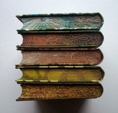 Everyone loves gold leaf & dyed page edges so why not decorate them yourself? RicherResourcesPublications.com