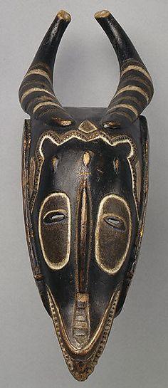 Antelope Mask (Zamble). MMOA
